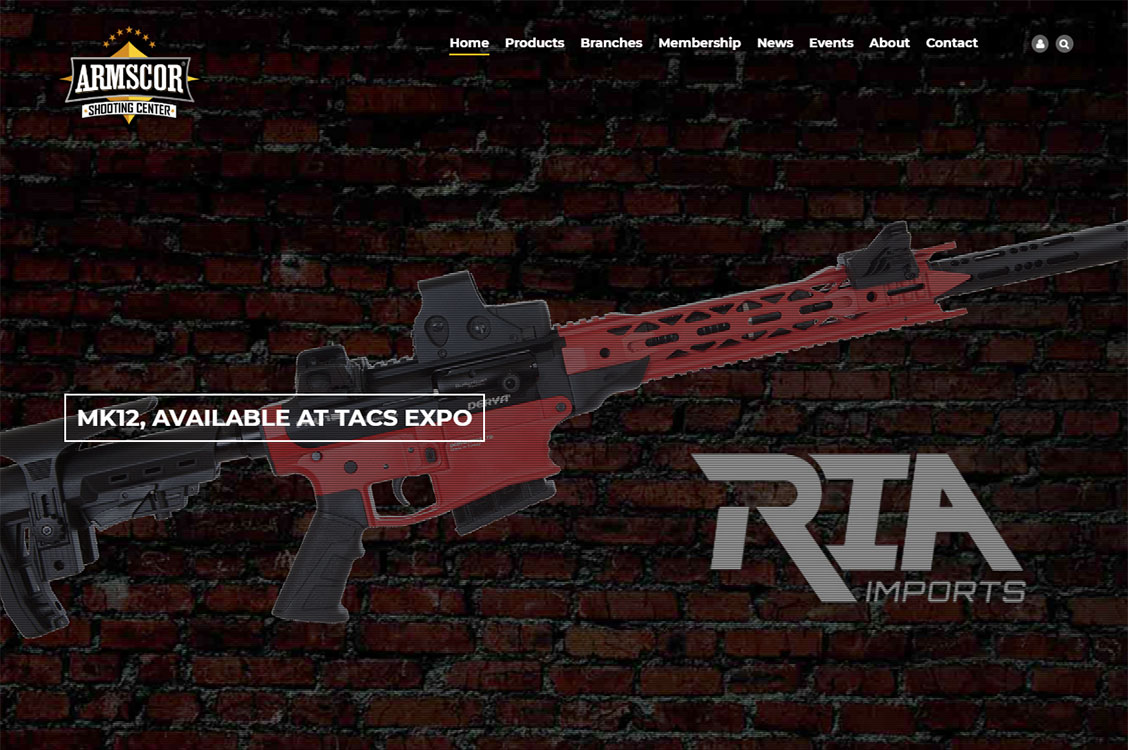 ARMSCOR Shooting Center guns and ammo, repair, parts and accessories