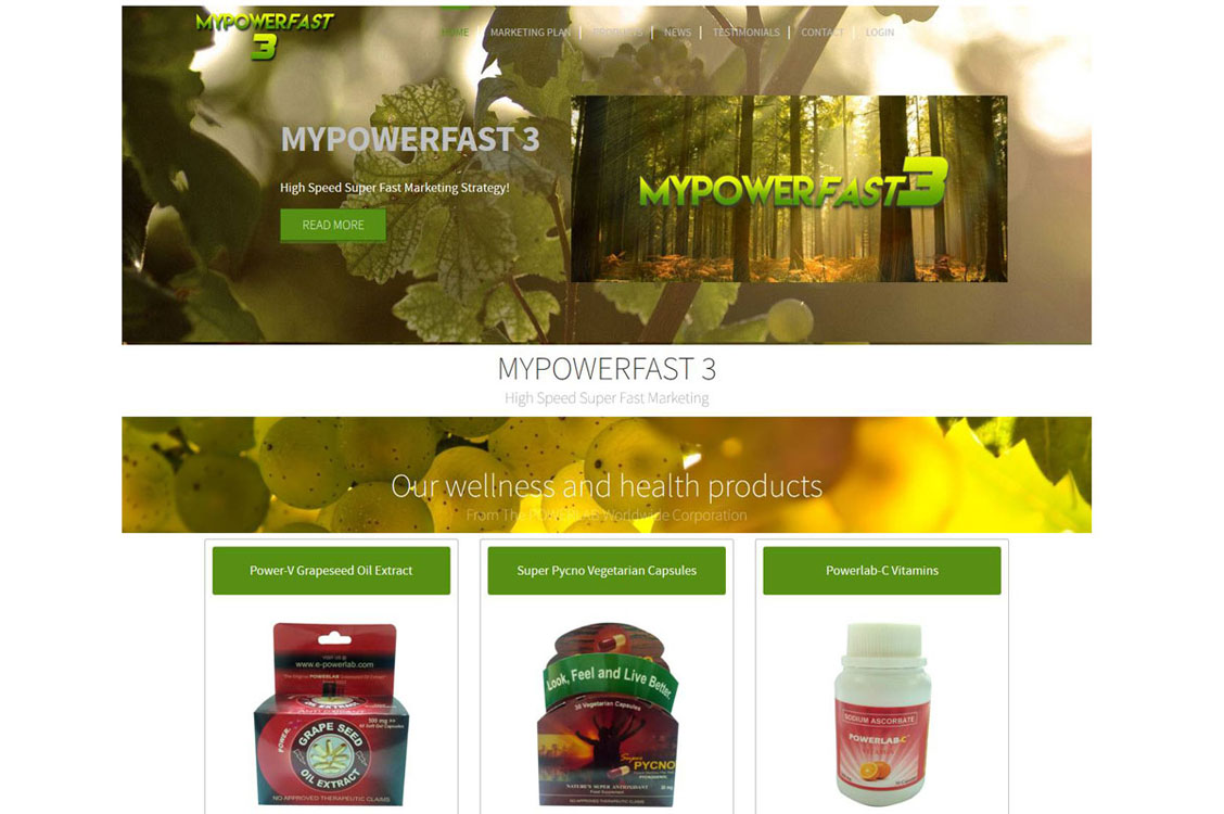 MYPOWERFAST 3: High Speed Super Fast Marketing Strategy! Joomla Website, Design and SEO in Manila, Philippines