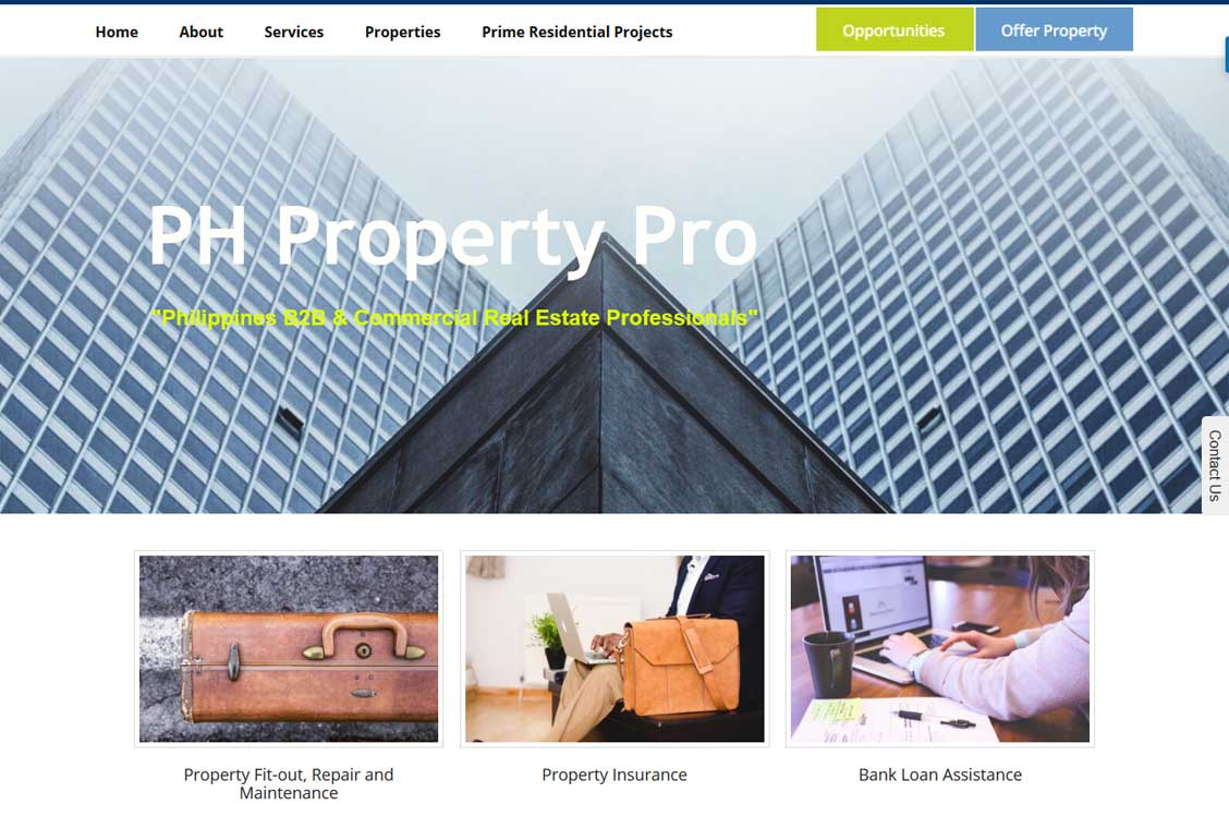 Property Management Consulting and Real Estate, Philippines