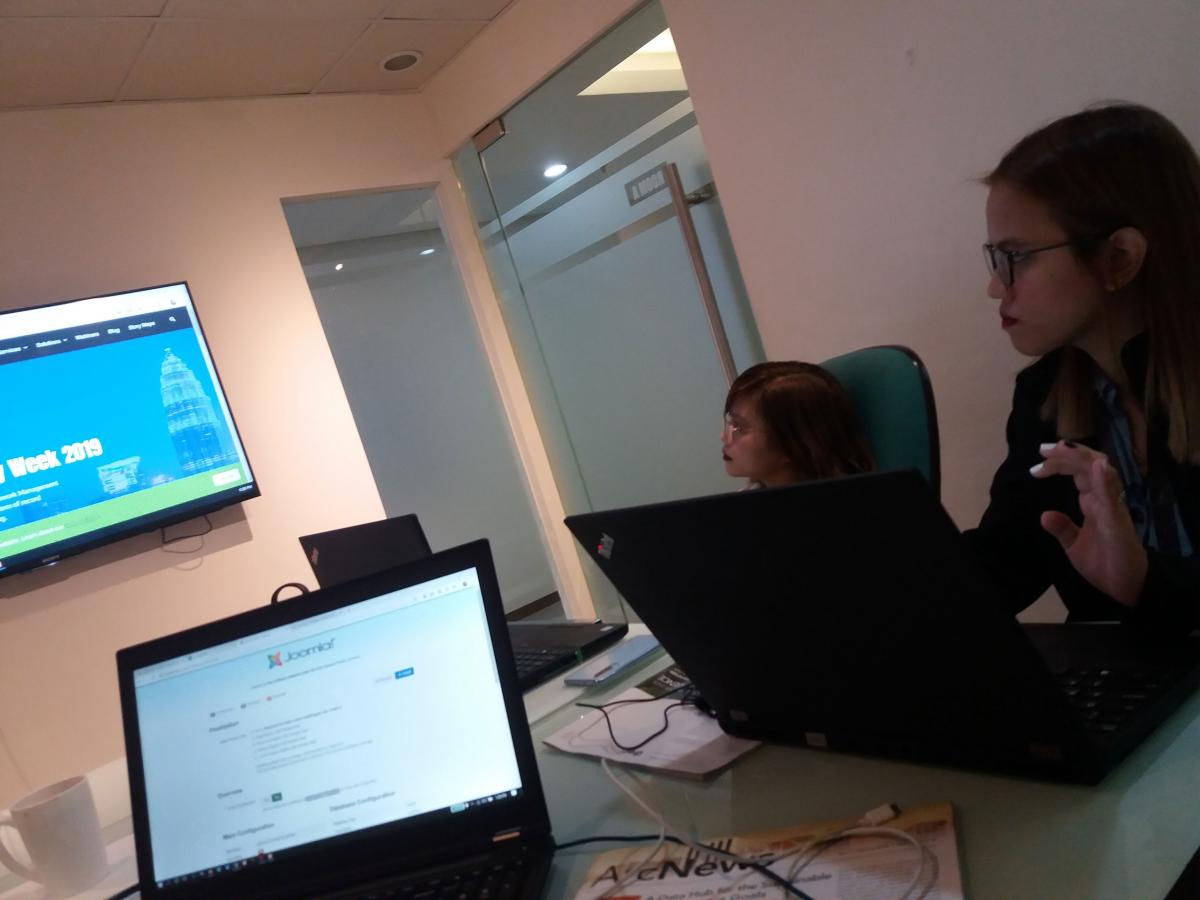 Joomla training in the Philippines